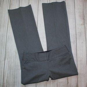 EXPRESS Size 6 Gray Dress Pants EDITOR